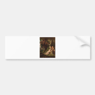 Cabanel The Expulsion of Adam and Eve from the Gar Bumper Sticker