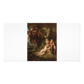 Cabanel The Expulsion of Adam and Eve from the Gar Card