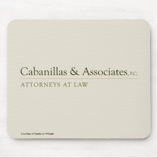 Cabanillas & Associates Mouse Pad