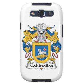 Cabanillas Family Crest Galaxy S3 Cases