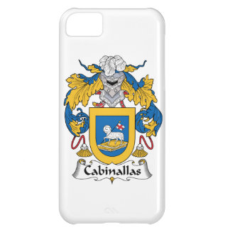 Cabanillas Family Crest iPhone 5C Covers