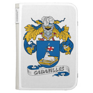 Cabanilles Family Crest Kindle Keyboard Cases