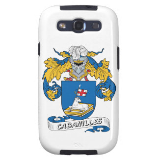 Cabanilles Family Crest Samsung Galaxy S3 Case