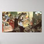 Cabaret de Edgar Degas Poster