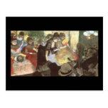 Cabaret de Edgar Degas Tarjeta Postal