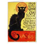 Cabaret du Chat Noir, Steinlen Greeting Card