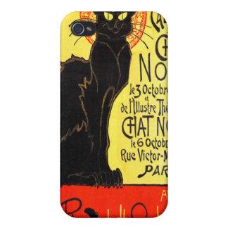 Cabaret du Chat Noir, Steinlen iPhone 4/4S Funda