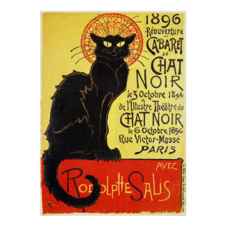 Cabaret du Chat Noir, Steinlen Posters