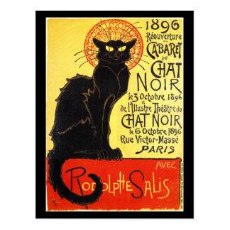 Cabaret du Chat Noir, Steinlen Postcard