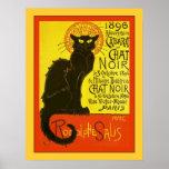 Cabaret du Chat Noir ~ Vintage Advertising Poster
