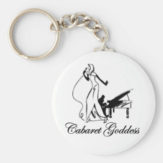 Cabaret Goddess Keychain