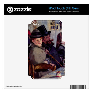Cabaret in Reichshoffen by Edouard Manet iPod Touch 4G Skin