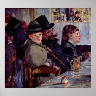 Cabaret in Reichshoffen by Edouard Manet Print