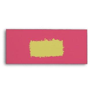 Cabaret Invitation Envelope #10 envelope