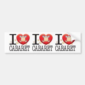 Cabaret Love Man Bumper Sticker