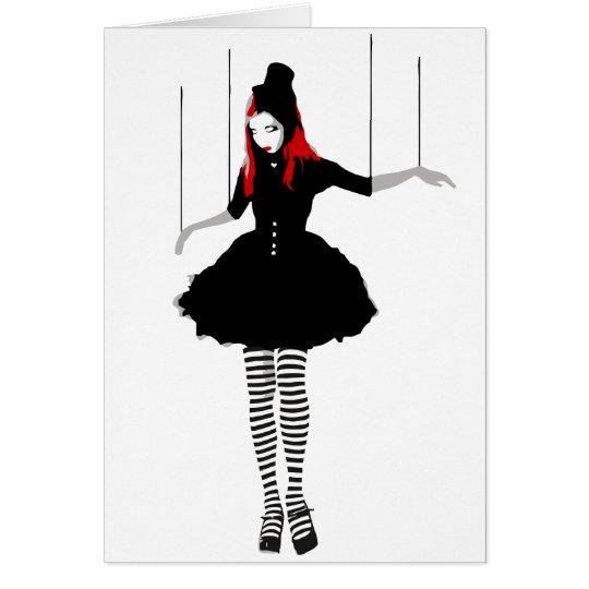 cabaret marionette card