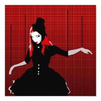 cabaret marionette invitation