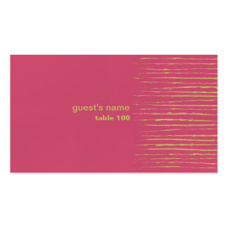 Cabaret Place Card Business Card