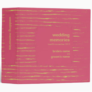 Cabaret & Sundance Wedding Memories Binder