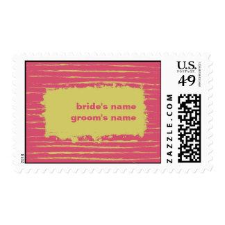 Cabaret Wedding Stamp