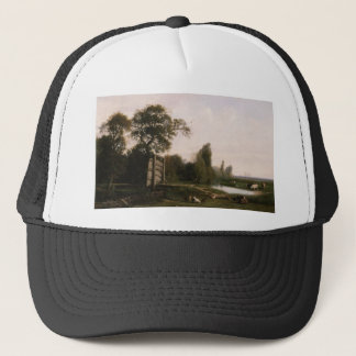 Cabat Nicolas At The Watering Hole Trucker Hat