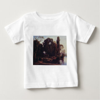 Cabat Nicolas Pastoral Scene Baby T-Shirt