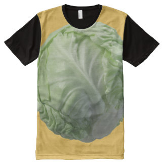 Cabbage Apparel All-Over Printed Panel T-Shirt