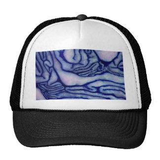 Cabbage Blue Trucker Hat