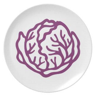 Cabbage dinnerware by PureDecor Plate