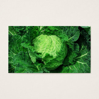 Cabbage Farm & Market Business Card