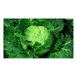 Cabbage Farm & Market Business Card Templates
