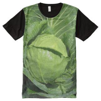 Cabbage Garden Panel Mens T-shirt