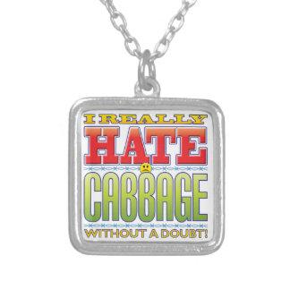 Cabbage Hate Face Pendants