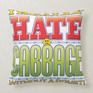 Cabbage Hate Face Pillows