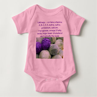 Cabbage infant onsie creeper