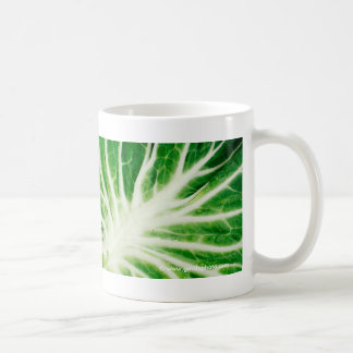 Cabbage leaf coffee mug