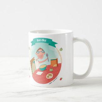 Cabbage·lecció Bon day: L'esmorzar Coffee Mug