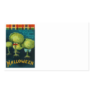 Cabbage Lettuce Creature Monster Science Fiction Business Card