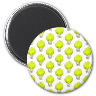 Cabbage Light Bulb Pattern Magnet