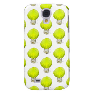 Cabbage Light Bulb Pattern Samsung Galaxy S4 Cover
