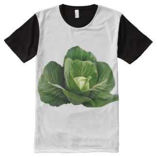 Cabbage Men's Apparel Printed Panel T-Shirt