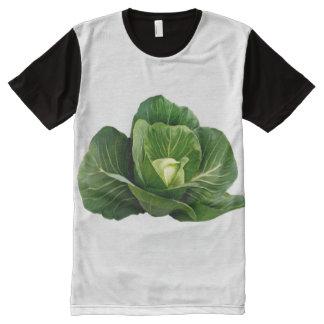 Cabbage Men's Apparel Printed Panel T-Shirt