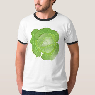 Cabbage Men's Basic Ringer T-Shirt
