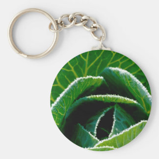 Cabbage, one of your five a day keychain