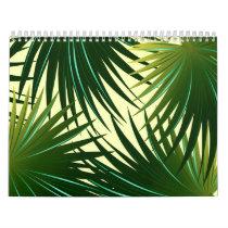 Cabbage palm leaf calendar