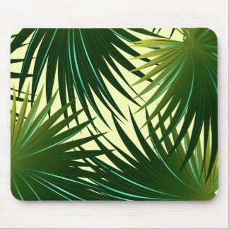 Cabbage palm leaf mouse pad