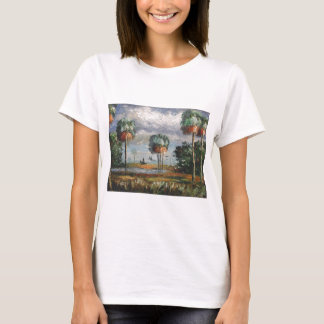 Cabbage Palm Trees and Birds T-Shirt