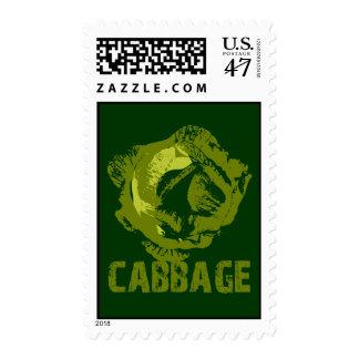 Cabbage Pop Art Postage