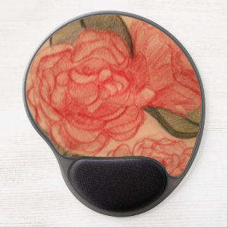 Cabbage Rose 1 Mouse-pad Gel Mouse Pad