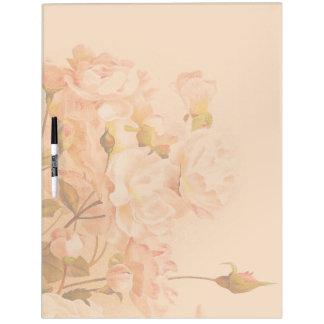 Cabbage Rose Dry Erase Board